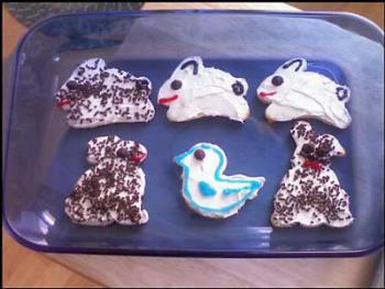 Easter Cookies - My Easter Cookies, Decorated ever so randomly!
