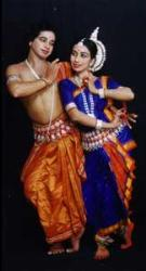 Tribhangi mudra in Odissi - Its called tribhangi as body is bent at three palces-head,waistand knee hence named bent at three places.
