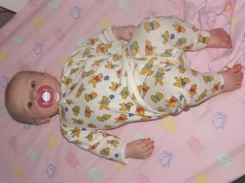 Nap Time! - This photo is bedtim for my daughter - first night in her cot!