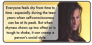 shyness can cramp your style - shyness can cramp your style.