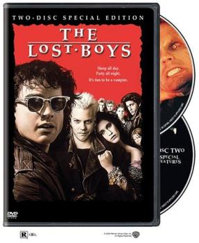 Lost Boys 2 DVD Set - The re-release of the original film with bonus footage disc