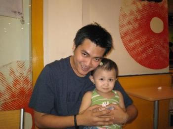 tito vinz and thea - at dunkin donuts
