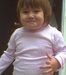 Kids  - My daughter a few years back at age 2