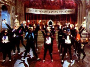 Time Warp - The scene from the movie The Rocky Horror Picture Show