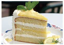 lemon - i like lemon cake.
