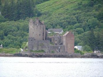 Eilean Donan - This is the place where my hubby proposed.