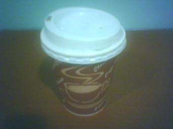 coffee - Cup of hot coffee