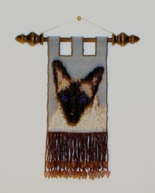 Wall hangings - Beeded wall hanging.