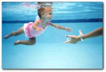swim - Teach you baby to swim.