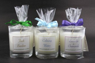 Aromatic candles - Environment-friendly aromatic candles with various scents