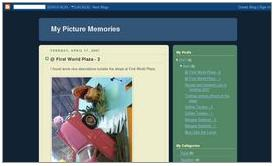 My Picture Memories - A snapshot of my photo blogs - My Picture Memories