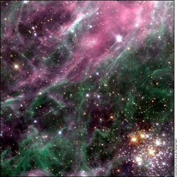 stars - This is actually a nice picture of the stars I just found on google..