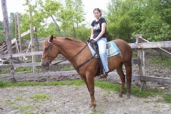 sheilana in western - western riding