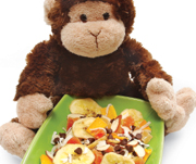 monkey mix picture - this is what it will loook like.