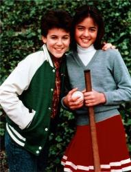 first crush - kevin and winnie from the wonder years!!