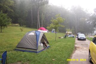 Mohican State Park - Our Campsite