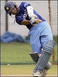 Dravid practice - dravid can bat perfectly shots