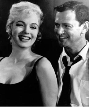 Marilyn Monroe - Image of Marilyn Monroe With Tony Randall