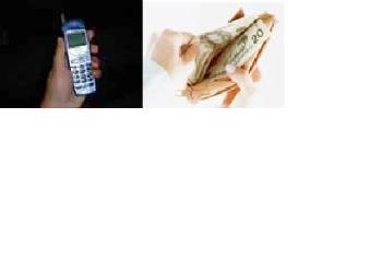 Things that never leave hoe without - Cellphone and Wallet