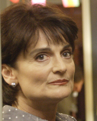 Cristine Rose as Angela Petrelli - Cristine Rose as Angela Petrelli in the TV series Heroes