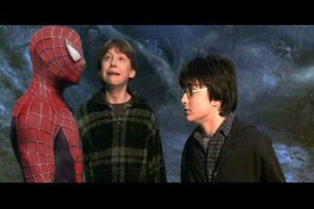 great movies - spiderman with harry potter