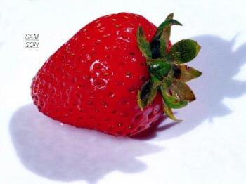 Strawberry - The riped strawberries
