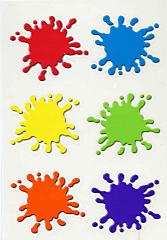 paint colors - splat