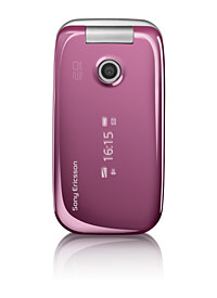 sony ericsson rose pink z610i - my mobile phone :D