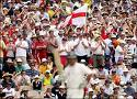 Barmy Army - The Barmy Army who follow the England cricket team