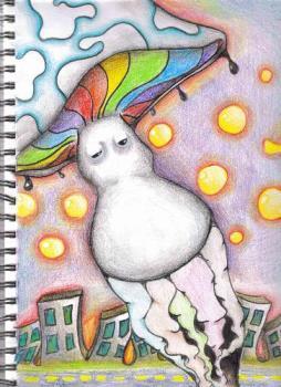 Mylot Shrooms - Mylot likes to keep us like mushrooms...in the dark. Oh well, I rather like mushrooms myself...lol