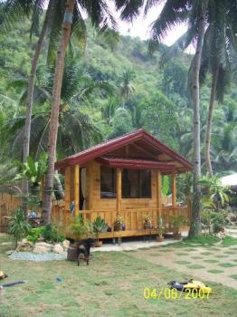 My cousin's bahay kubo - My cousin's own version of bahay kubo