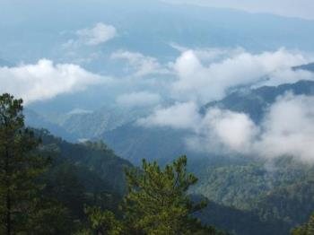 Sagada, Philippines - The road to Sagada
