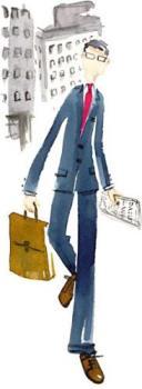 working - business man