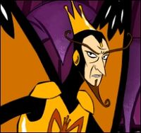 The Monarch - Arch enemy of Dr. Venture. From the Venture Bros. TV show.  source: wikipedia