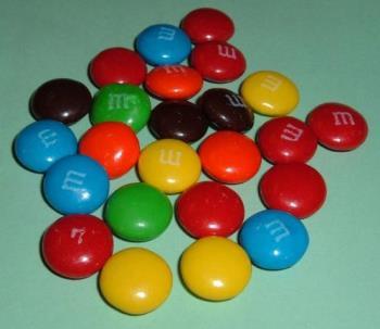 Multiple M&M's - Multiple M&M's clipart
