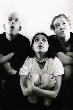 placebo - stefan olsdal,brian molko and robert schultzberg of placebo
