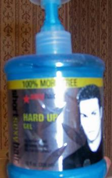 Short and Sexy Hair Gel - This is the hair product that I use...I buy it at the beauty salon...Cost $15....lasts about 3 months.