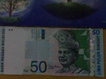 Ringgit Malaysia - Ringgit Malaysia of 50.