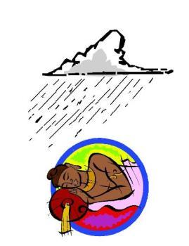 Sleep and rain - Sleeping while it is raining outside