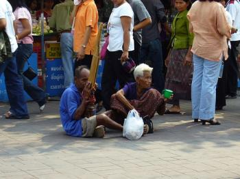 beggars - do you give them money?