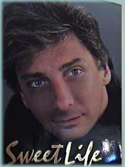 Barry Manilow - This is the cover of Barry Manilow's autobiography, Sweet Life.