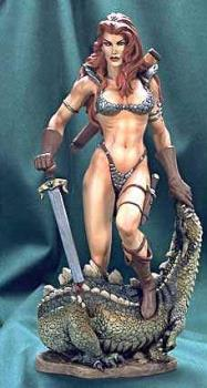 Amazon Warrior - Amazon Warrior prepared for battle