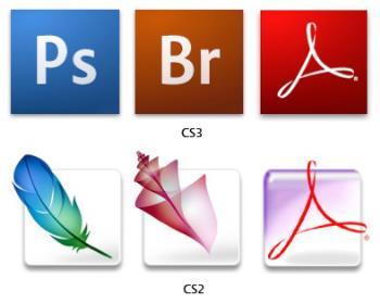CS icons - Adobe CS icons