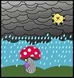 rain - I love the rain, I feel refreshing when it's cold.