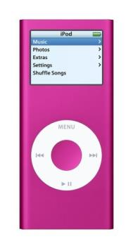 ipod nano pink - one of the items on my wish list