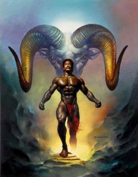 Aries - The true Aries is beautifully depicted in this painting.