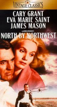 A poster for North by Northwest - North by Northwest - the movie was born from two key scenes that Hitchcock was desperate to realise. One was to be set at the United Nations, and the other was to be a chase across the presidential faces carved into the Mount Rushmore National Monument. It was Lehman's job to construct a film around these two visions, and out of them emerges a thriller so improbable that it becomes quite brilliant in evading even the most fantastic of audience guesses.