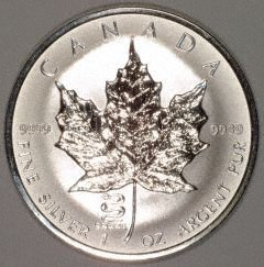2001 Canadian Silver Maple Coin - 2001 Canadian Silver Maple Coin, a nice collectible item.
