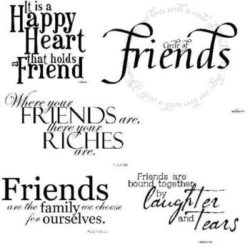 friendship - friends are forever