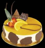 mango cake - a little more like this...yummy!